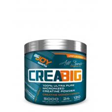 BigJoy Sports CreaBig Micronized Creatine Powder 120 Gr