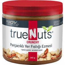 BigJoy Foods Truenuts Crunchy Yer Fıstığı Ezmesi 340 Gr