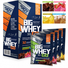 BigJoy Sports BigWhey GO Protein 1040 Gr 32 Paket