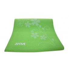 Voit Pilates Yoga Mat Desenli 0.6cm Yeşil