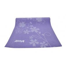 Voit Pilates Yoga Mat Desenli 0.6cm Mor
