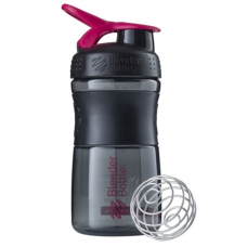 Blender Bottle Sportmixer 500 ML Siyah Pembe