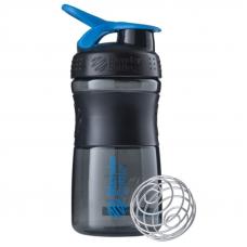 Blender Bottle Sportmixer 500 ML Siyah Mavi