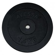 Avessa Siyah Plaka 7,5 Kg