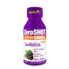 ZeroSHOT 60 ML 3000Mg L-Carnitine   Plus Sambucus