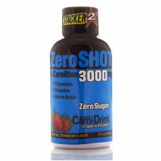 ZeroSHOT 60 ML 3000Mg L-Carnitine